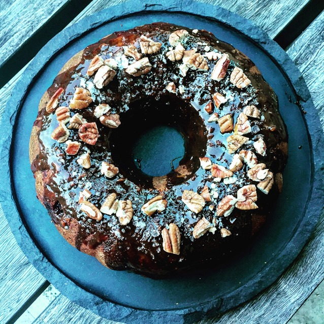 Sticky Date Bundt Cake With A Salted Burnt Butter Caramel Glaze
