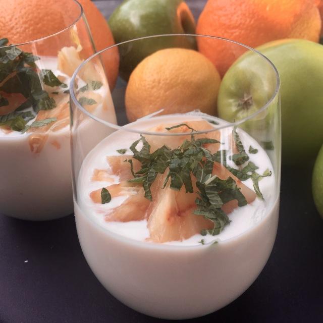 Yoghurt Breakfast Pannacotta